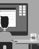 Someone with a cool malware mug